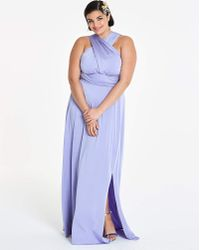 J SHOES - Joanna Hope Lilac Multi Way Maxi Dress - Lyst