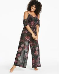 Simply Yours - Cold Shoulder Jumpsuit - Lyst