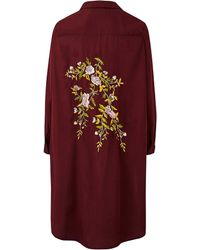 AX Paris - Embroidered Detail Tunic - Lyst