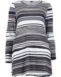 Calvin Klein - Izabel London Curve Striped Swing Dress - Lyst