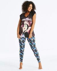 Disney - Evil Queen Legging Pyjama Set - Lyst