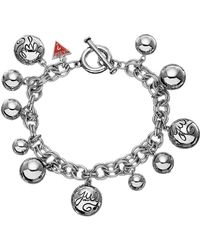 Guess - Sphere Chunky T-bar Bracelet - Lyst