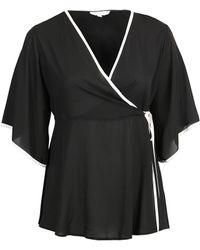 Disney - Lovedrobe Gb Black Kimono Wrap Top - Lyst