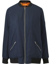 bc04ad4aa593 Simply Be - Lightweight Bomber Jacket - Lyst