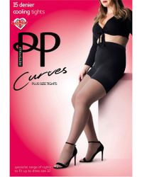 Pretty Polly - Curves Sheer Cooling Tights - Lyst