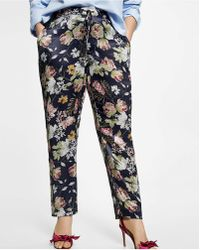 Violeta by Mango - Floral Suit Trouser - Lyst
