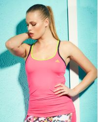 Simply Be - Adidas Fitness Tank Top - Lyst