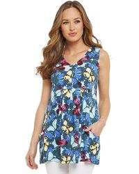 Simply Be - Joe Browns Crazy Butterfly Tunic - Lyst