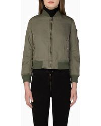 Siwy - Turner In Olive (patched) Jacket - Lyst