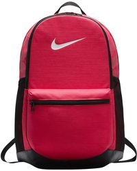 8b8c0f79b89a Lyst - Nike Brasilia 7 Backpack Mesh Xl in Black