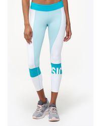 Asics - Colour Block 7/8 Tights - Lyst