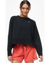 e57bf3c83dd09 Nike - Dry Top Graphic Versa Crew Long Sleeve - Lyst