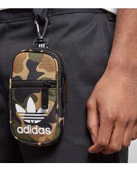 adidas Originals - Trefoil Clip Pouch Bag - Lyst