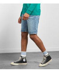 Levi's - Levis 502 Regular Taper Fit Hemmed Shorts - Lyst
