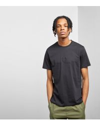 Fred Perry - Tonal Embroidered T-shirt - Lyst