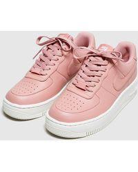 newest 275c3 0546b Nike  Air Force 1 Upstep Womens  Lyst