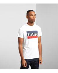 Levi's - Levis Sport Graph Short Sleeve T-shirt - Lyst