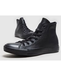 Converse - All Star High Leather Mono - Lyst