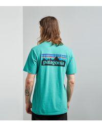 Patagonia - P-6 Logo T-shirt - Lyst