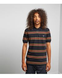 Fred Perry - Stripe Polo Size? Exclusive - Lyst