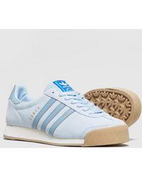 adidas samoa vintage blue