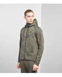 c89aea73f810 Lyst - Nike Sportswear Tech Fleece Windrunner Hoodie in Black for Men