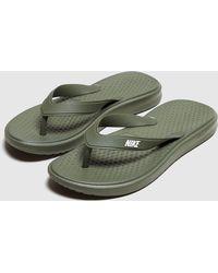 Nike - Solay Flip Flops - Lyst