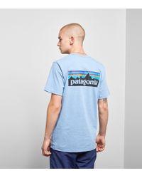 Patagonia - P-6 Logo Pocket Responsibili T-shirt - Lyst