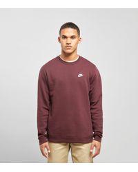 Nike - Foundation Crew Sweatshirt - Lyst
