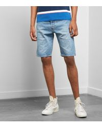 Levi's - Denim 501 Hemmed Shorts - Lyst