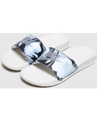 Nike - Benassi Just Do It Slides Women's - Lyst