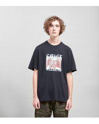 Edwin - Savage Weekend T-shirt - Lyst