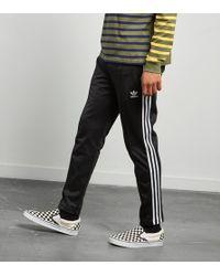 Lyst Adidas Nera Gli Originali Beckenbauer Pantaloni Della Tuta Nera Adidas Per Gli Uomini. fc14b5