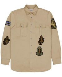 JW Anderson - Multi Patches And Pocket Shirt - Lyst