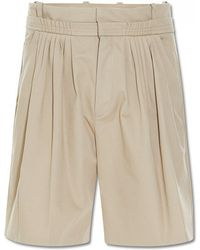 JW Anderson - Pleat Front Baggy Shorts - Lyst