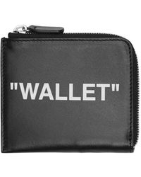 Off-White c/o Virgil Abloh - Quote Coin Purse Wallet - Lyst