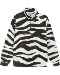 Stussy - Polar Fleece Mock Neck Top - Lyst