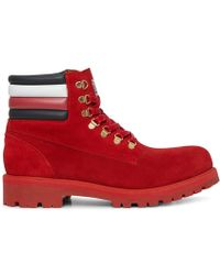 Tommy Hilfiger - Lewis Hamilton Suede Hiking Boots - Lyst