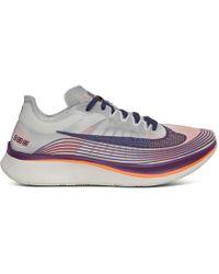 Nike - Nikelab Zoom Fly Sp Purple/orange - Lyst