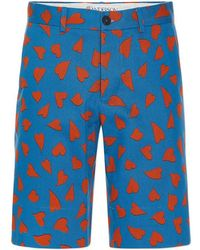 J.W. Anderson | All Over Heart Shorts | Lyst