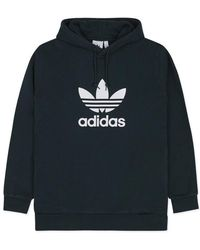 adidas Originals - Trefoil Hooded Sweatshirt - Lyst