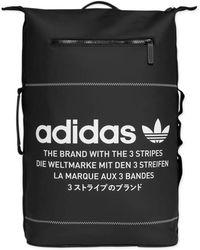 bf3e0ae963 Lyst - adidas Originals 2 Pocket Backpack in Black for Men