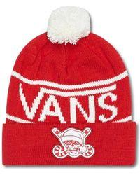 Vans - M Holiday Pom Beanie - Lyst