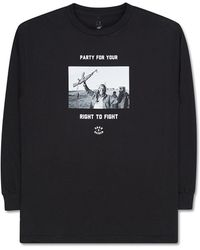 Born X Raised - Fight Party Long Sleeve T-shirt - Lyst