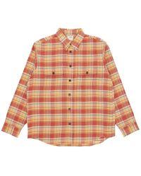 Visvim - Handyman Check Shirt - Lyst