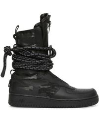Nike - Nike Sf Air Force 1 Hi Boot Black black-dark Grey - 2bd8cd682