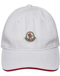 6fbe36e1b52 Moncler Hat in Black for Men - Lyst