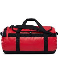 The North Face - Base Camp Duffel - Large (summit Gold/tnf Black) Duffel Bags - Lyst