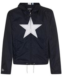 Converse - Wmns Mademe Hooded Track Jacket - Lyst