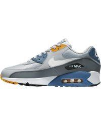 ca26a77cb4 Nike Air Max 90 Essential in Blue for Men - Lyst